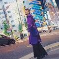 BT016 Design Original Primavera 2016 de metal brilhante cor harajuku com capuz casaco longo casaco de mulheres de grandes dimensões do vintage