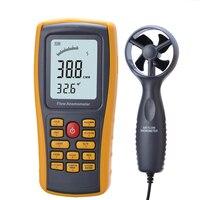 Wind Speed Meter GM8902 Anemometer Wind FLOW Speed GaugeTemperature Measure Digital Handheld Measuring High Quality