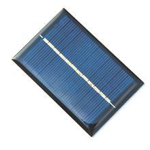 High Quality 0 6W 6V 100Ma Solar Cell Polycrystalline Solar Panel Solar Module DIY Solar Charger