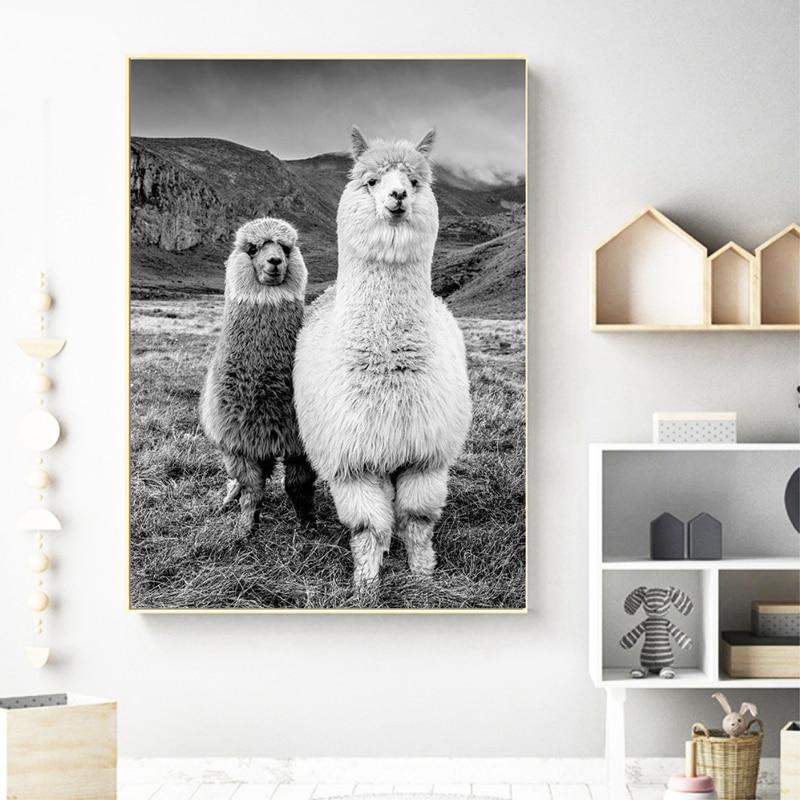 Animal Prints Poster Kids Room Decor