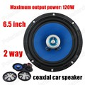Manufacturer wholesale 6.5 inch car audio horn speakers coaxial car speaker 2 way 2x120W car stereo speaker