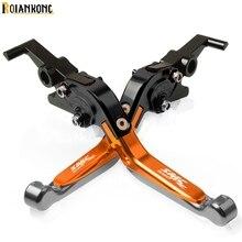 Motorcycle CNC Adjustable Brake Clutch Levers handle For KTM 690 SMC R SMCR 690SMC 2012 2012-2013