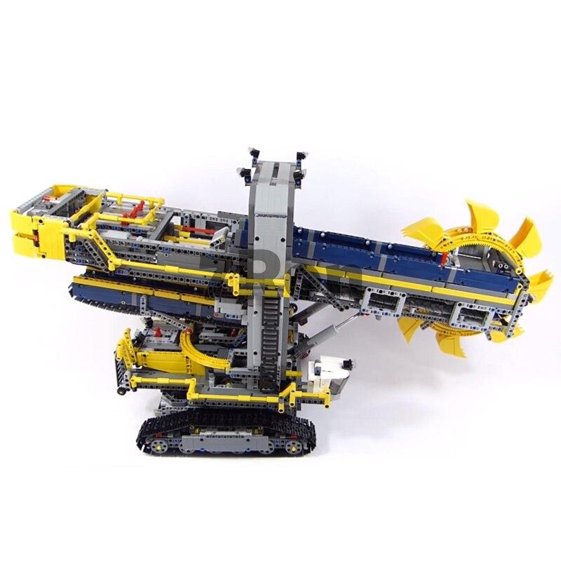 Model building toys hobbies 20015 3929Pcs Compatible With lego Technic 42055 Bucket Wheel Excavator assemble Blocks Brick