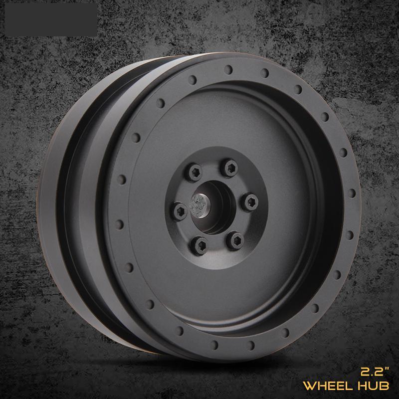 4pcs All metal 2.2inch wheel Hub for 1/10 rc Crawler Car Traxxas TRX4 D90 D110 Axial scx10 90046 90047 RC4WD CC01 injora 4pcs 1 9 beadlock wheel rim for 1 10 rc crawler axial scx10 90047 90046 tamiya rc4wd cc01 d90 d110 rc car wheel hub
