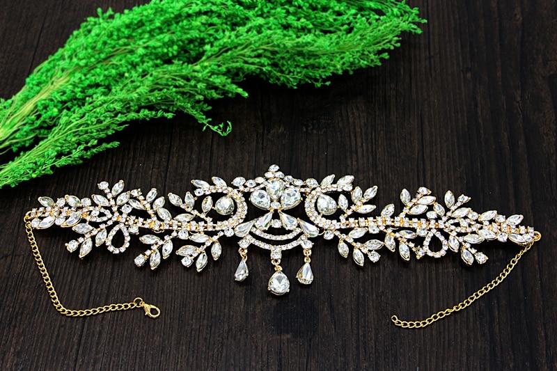 Άγγελος Rhinestone Γάμος Αξεσουάρ Μαλλιών - Κοσμήματα μόδας - Φωτογραφία 6
