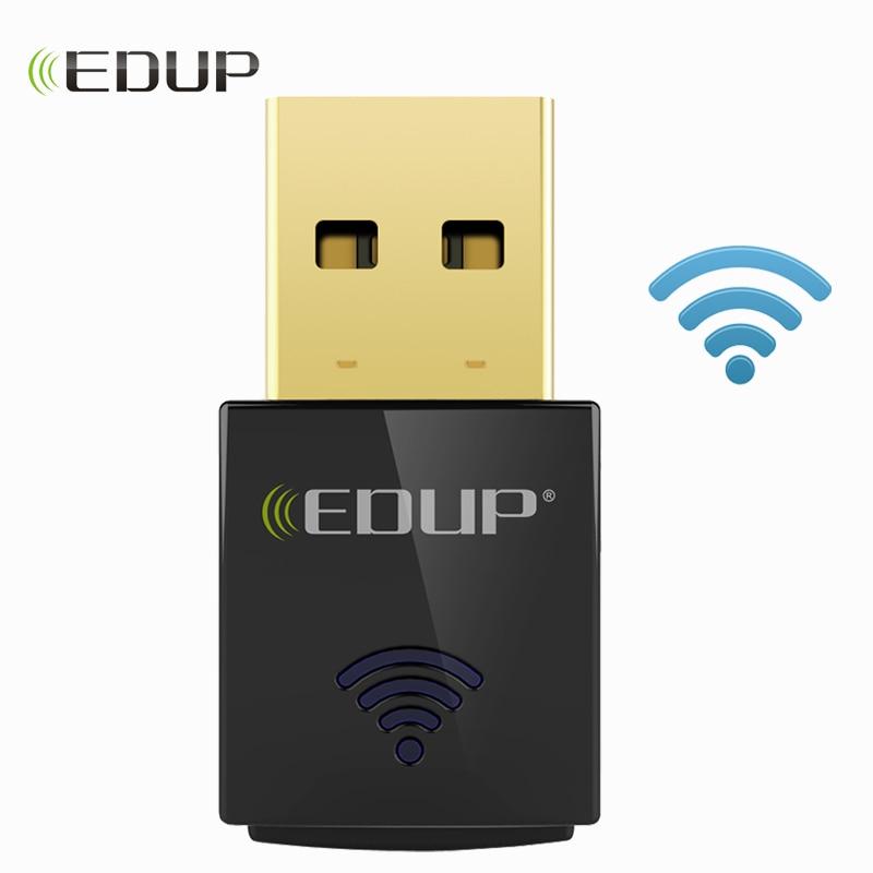 EDUP 600Mbps Mini Wireless USB WiFi Adapter 5Ghz 802.11ac