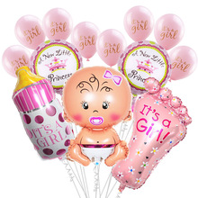 Baby Boy Girl Foil Balloons Kids Birthday Party Decoration It is a Girl/Boy Air Ballon Hanging Bunting Banners Shower Toys