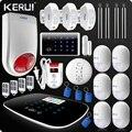 Lastest W193 3G охранная сигнализация Wifi GSM PSTN домашняя охранная ЖК GSM SMS сенсорный экран сигнализация домашняя сигнализация беспроводной луч газо...