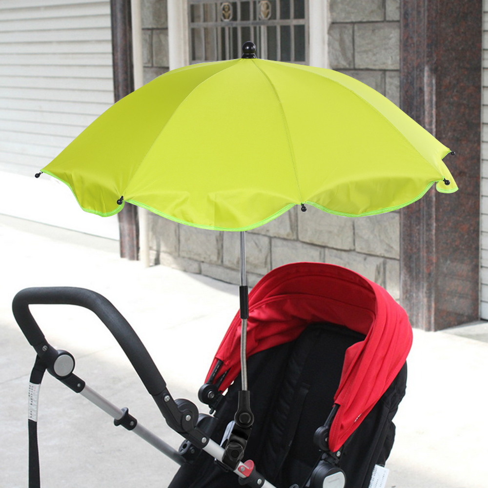 1pcs Detachable Baby Parasol Umbrella Outdoor Adjustable Baby Pushchair Cover Sun Shade Parasol Rain Protecter Outdoor Tool in Outdoor Tools from Sports Entertainment