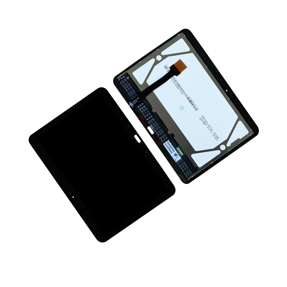 Touch Screen Digitizer Panel LCD Display For Samsung Galaxy Tab 4 SM-T530 T535  TouchScreen Assembly Tablet Panel Repair Parts lcd display touch screen digitizer assembly replacements for samsung galaxy tab e t560 sm t560nu 9 6 free shipping