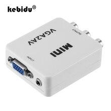 Converter-Adapter Support MINI High-Quality Vga To AV TV PC HD Kebidu Computer 1080P