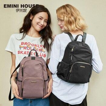 EMINI HOUSE Anti Theft Backpacks For Women Travel Waterproof  Nylon Bag Backpack Female Zipper Design School Bag Back Pack Fashion Backpacks