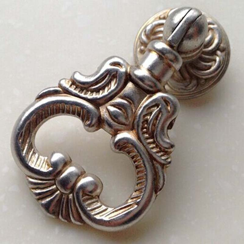 drawer knob pull dresser pull knob antique silver kitchen cabinet cupboard furniture hardware handles knobs shaky