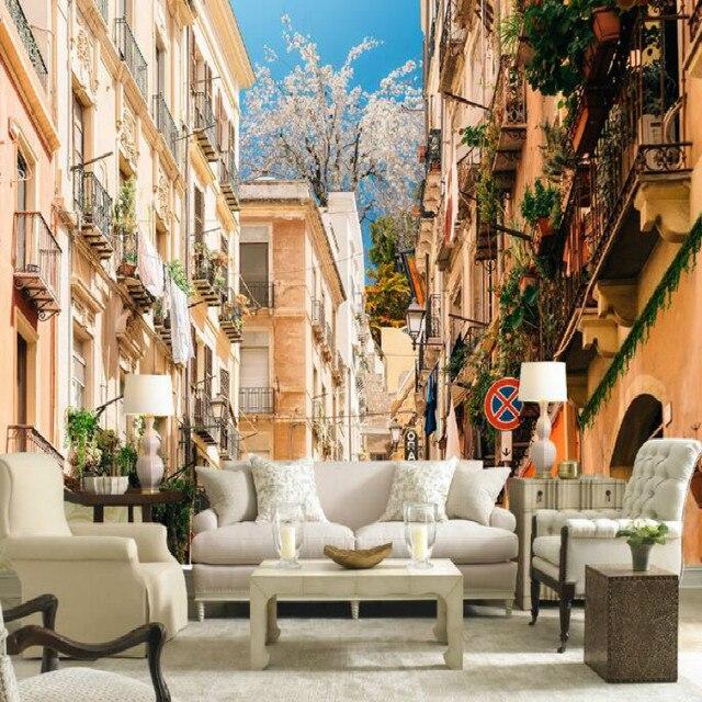Europese stijl landelijk town tuin huis decoratie grote ...