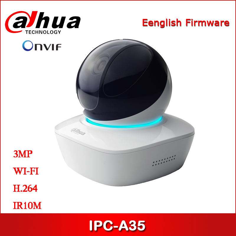 Dahua IP Camera 3MP IPC-A35 Security Camera IR A Series WiFi Network PT Camera