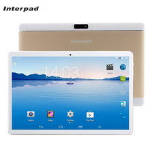 Interpad 3G Phone Tablets 10 inch Quad Core Android tablet IPS Screen MTK6582 WIFI 2GB RAM 16GB ROM GPS Brands Tablet pc 10.1 9