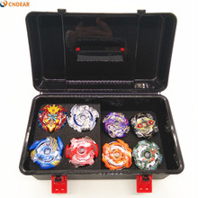 Beyblade burst Metal Funsion B48 B66 B41 B59 B36 B37 B35 B34 With Launcher And Handle .box Children's toys(China)