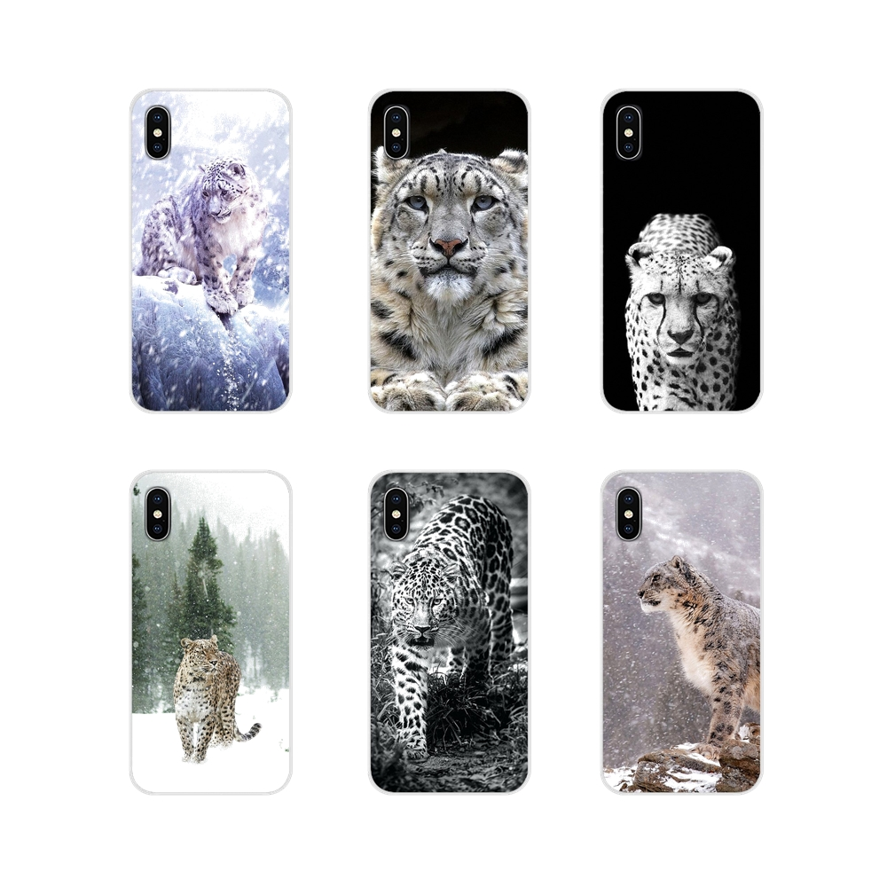 Snow Leopard <font><b>anime</b></font> For Huawei Mate <font><b>Honor</b></font> 4C 5C 5X 6X 7 7A 7C <font><b>8</b></font> 9 10 8C 8X 20 Lite Pro Accessories Phone Shell Covers image