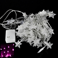 10M 100LED 6W Garland Outdoor Star String Lights Christmas Xmas Decoration Wedding party LED String Lights 6 Light Color 8 Modes