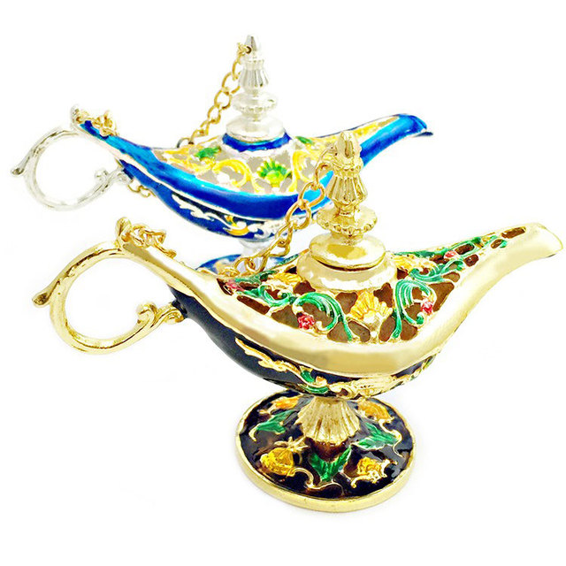 Decor hand made gifts to children india golden aladin magic lamp decor hand made gifts to children india golden aladin magic lamp home decoration collectible easter genie negle Image collections