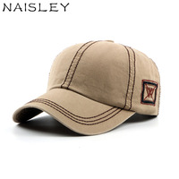 NAISLEY Spring Cotton Cap W Letter Snapback Hat Fashion Trend Hiphop Sunshade Caps Hats For Women