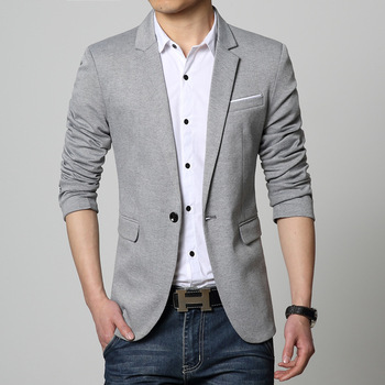 2020 men cultivate one's morality trend autumn handsome suit the new leisure suit