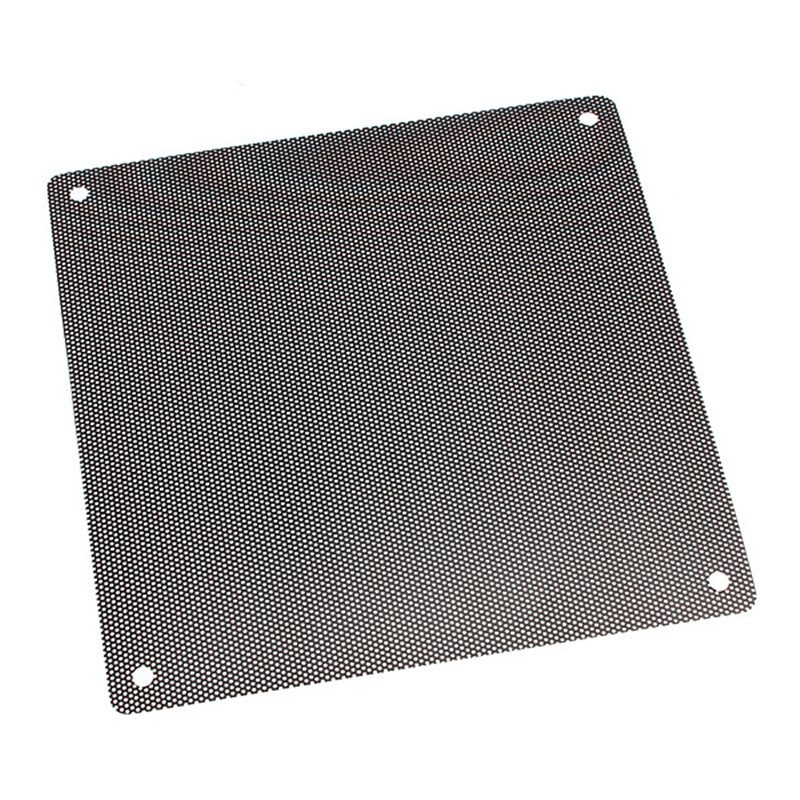 New Arrival 14cmx14cm Computer Cooling Fan Filter PVC 140mm PC Fan Case Dust Filter Strainer Dustproof Mesh Cuttable new arrival 14cmx14cm computer cooling fan filter pvc 140mm pc fan case dust filter strainer dustproof mesh cuttable