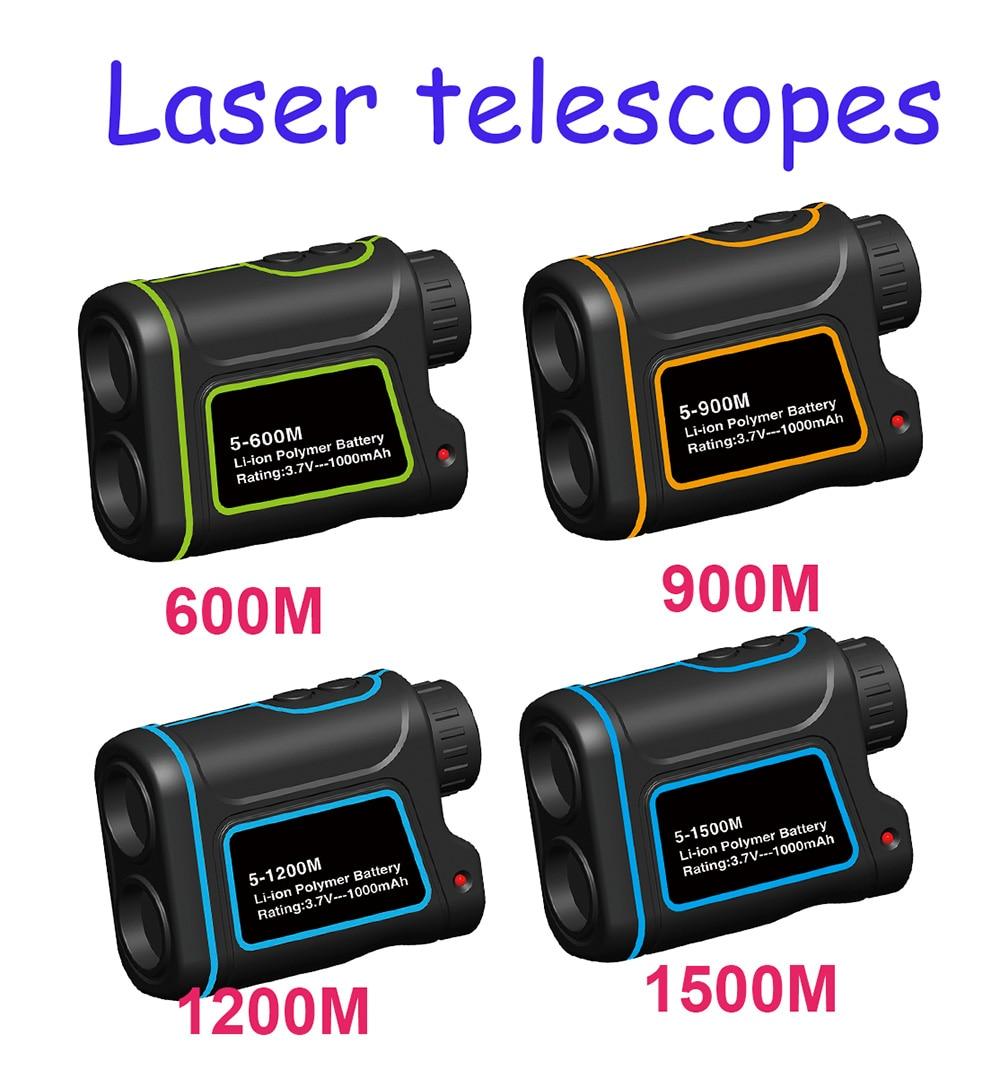 600M 1500M Telescope laser rangefinder range finder distance meter Monocular Golf Hunting Telescope Rangefinder speed tester boblov pro version 5 1500m laser rangefinder speed measurer 6x telescope monocular golf ball distance meter tester free shipping