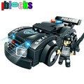 IBLOCKS comando SWAT. Modelos para niños. Mini figuras de Policías de juguetes de construcción y bloques de coches compatibles con LEGO. Juguetes para Niños