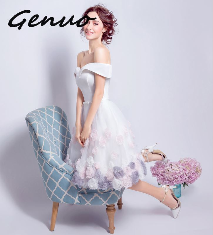 Genuo High end The gas field queen banquet party noble and elegant dress 2019 new fashion ladies lace fishtail beads dress 0152 in Dresses from Women 39 s Clothing