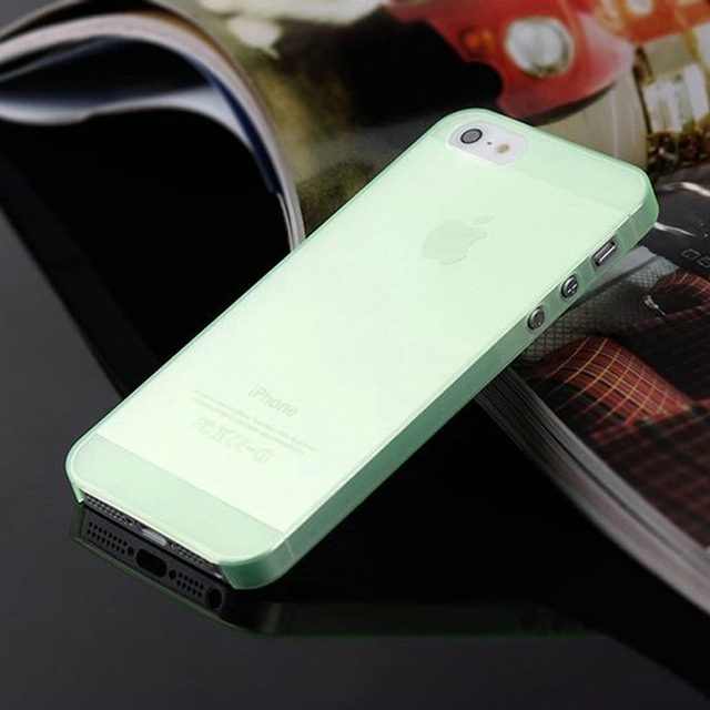 0.3mm Ultra Thin Matte Mobile Phone Bag Case for iPhone 5 5S SE 2020 6 6S 7 8 Plus 4 4S X XS Translucent Clear Capa Funda Coque 4