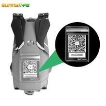 DJI Mavic 2 Pro 용 5pcs DJI Spark 용 Mavic Pro Mavic Air QR 코드 가방 방수 커버 팬텀 3 4 보호 케이스