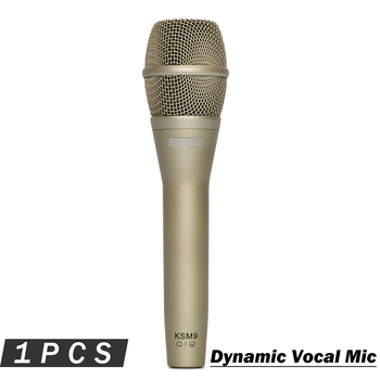 Top Quality KSM9 Handheld Vocal Microphone !! Professional Classic Karaoke Mic Mike for Live Show Stage Performance Speech