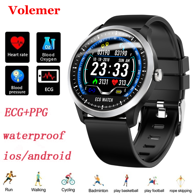 Volemer Newest N58 Smart Watch With Ecg Ppg Display Heart Rate Sleep Monitor 3D UI Multi