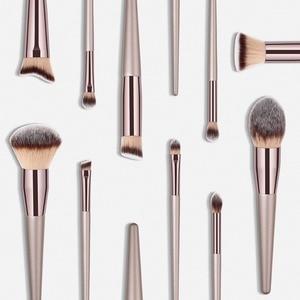 Luxus Champagner Make-Up Pinsel Set Für Foundation Powder Blush Lidschatten Concealer Make Up Pinsel Kosmetik Schönheit Werkzeuge
