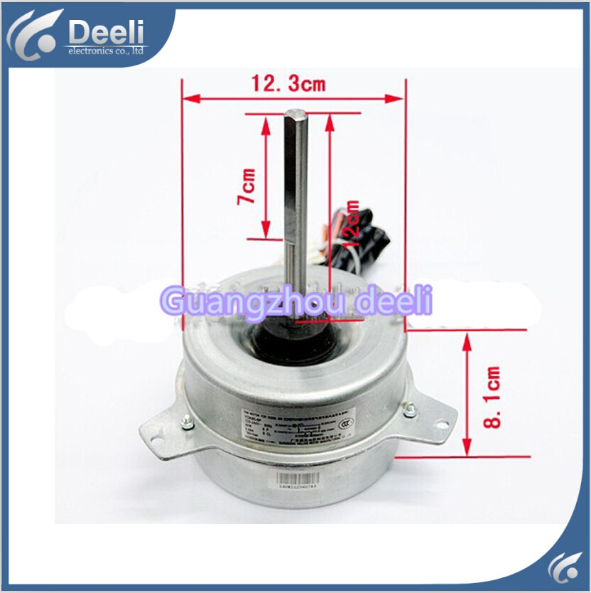 UPS / DHL Free shipping good working for Air conditioner inner machine new motor YDK65-6P Motor fan used good condition la255 3 with free dhl