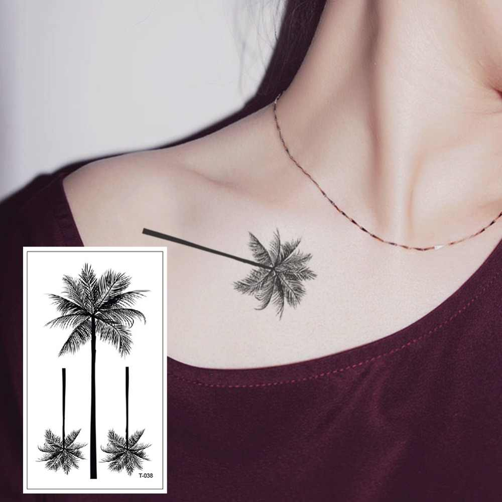Tree Waterproof Temporary Tattoo Sticker Fake Tattoo Body Art Beauty The Flash Tatuagem Tatoos Temporarles For Women T-038