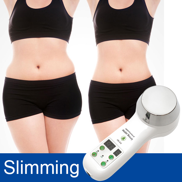 2017 1MHz Ultrasonic Cavitation Cellulite Weight Loss Machine Ultrasound Therapy slimming equipment Massager 110-240V