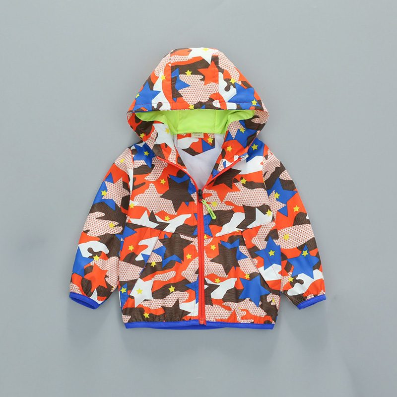 baby boys Spring jacket Windbreaker Coat Toddler Boy Blazer Children Outerwear raincoat for kids camouflage uniform Clearance