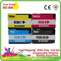 Замена 950 951 XL чернильный картридж для 950XL 951XL hp950xl hp951xl hp950 hp951 Officejet pro 8100 8610 8620 8630 8600