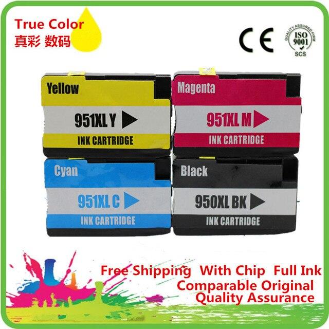 Сменный картридж 950 951 XL для 950XL 951XL hp950xl hp951xl hp950 hp951 Officejet pro 8100 8610 8620 8630 8600