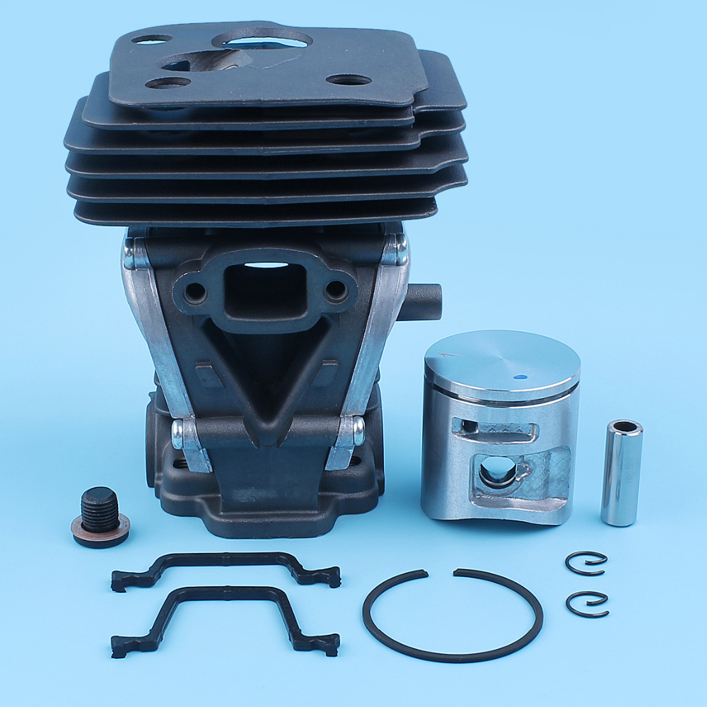 42mm Cylinder Piston Ring Kit For Husqvarna 445,445E,450,450 Rancher Chainsaw Nikasil Plated #544119902