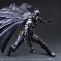 DC Comic No 1 Batman Arkham Knight Action Figures Play Arts Model Toys 25cm