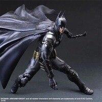 DC Comic No 1 Batman Arkham Knight Action Figures Play Arts Model Toys 25cm