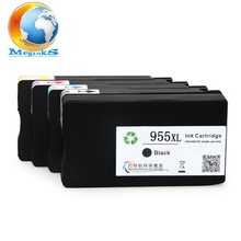 4 color For HP 955XL 955 XL Ink Cartridge For HP Officejet Pro 7740 8210 8216 8702 8710 8715 8720 8725 8730 8740 Printer