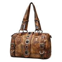 2017 NEW designs women's vintage handbags genuine leather national design bags