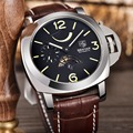 2016 BENYAR Brand Dive Mechanical Watches Men Sport Military Genuine Leather Automatic Watch Relogio Masculino