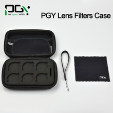 In stock! PGY DJI Phantom4 3 OSMO X3 inspire1 gimbal Lens Filter Case Cover Bag Holder Drone Filters Case DJI OSMO Accessories