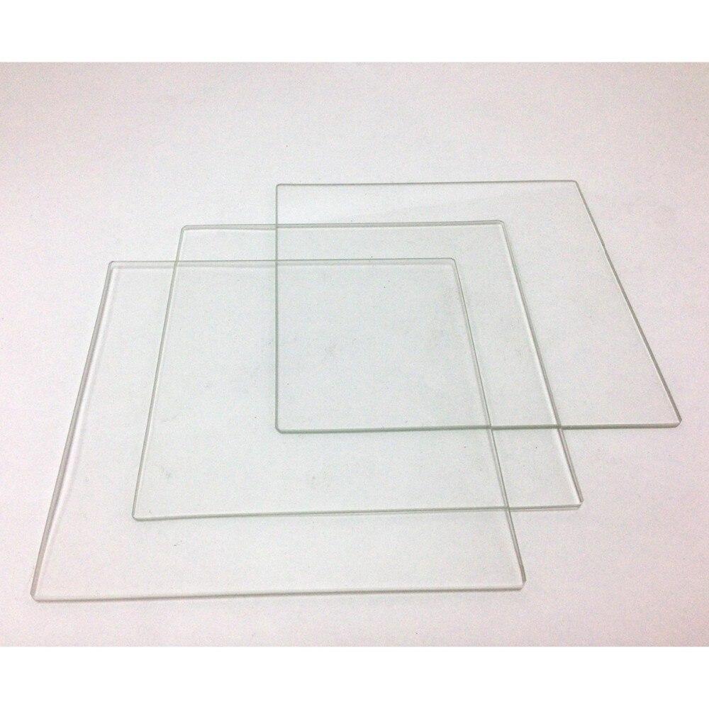 Horizon Elephant 3pcs Velleman K8200 BOROSILICATE GLASS PLATFORM 215 x 215 x...