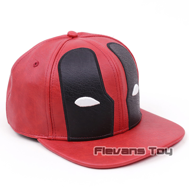 5381bb98ea9 Fashion Marvel X MEN Deadpool Leather Hat Snapback Baseball For Men Hip Hop  Cap-in Baseball Caps from Apparel Accessories on Aliexpress.com